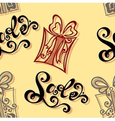 Seamless Ornate Pattern with Shoes vector image vector image