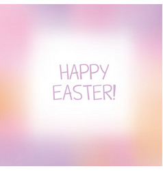 Abstract rosy color blurred background frame vector