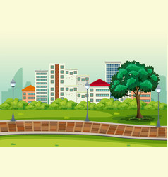 an urban peak background vector image