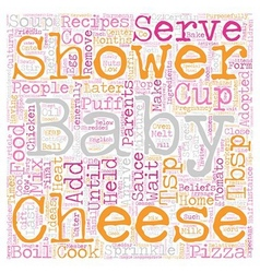 Baby Shower Recipes Food Ideas For Your Shower vector
