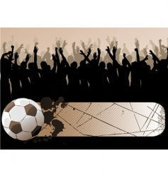 Ball with frame vector