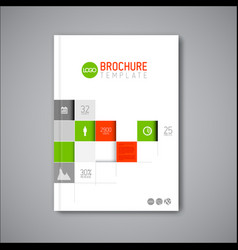 Business abstract brochure book flyer design vector