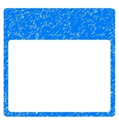 Calendar Page Template Grainy Texture Icon vector