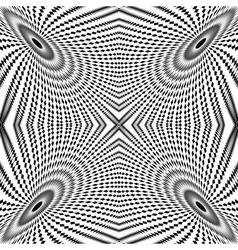 Design monochrome circle movement background vector image