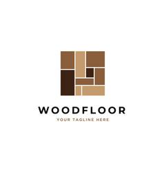 Flooring logo design vector