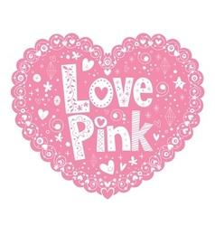 Love Pink 2 vector