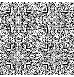 pattern from ornamental elements vector image