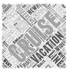 Princess cruise lines Word Cloud Concept vector