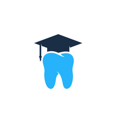 School dental logo icon design vector