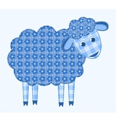 application sheep vector image