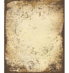old retro paper vector image