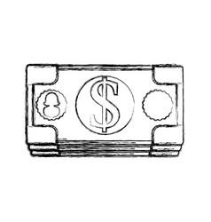 Billets of money vector