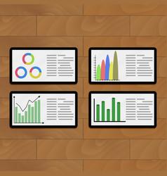 Business modern presentation vector