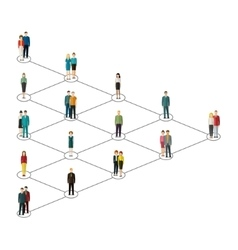 Concept of social media marketing vector