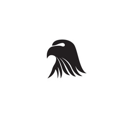 eagle head bird logo and symbol vector image