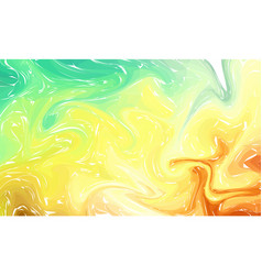 Fluid colorful shapes background pastel color vector