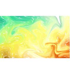 fluid colorful shapes background pastel color vector image