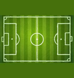 Football green field vector