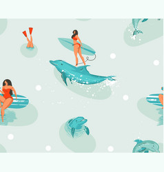 Hand drawn stock abstract cute summer time vector