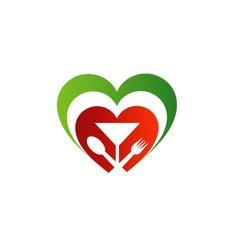 Logo for Italian cuisine vector