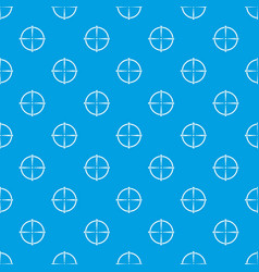 paintball gun sight pattern seamless blue vector image