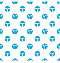 road turn pattern seamless vector image