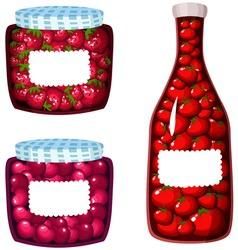 Set of Sauces vector