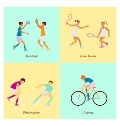 Sport people activities vector