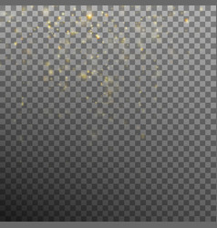 abstract gold bokeh background eps 10 vector image vector image