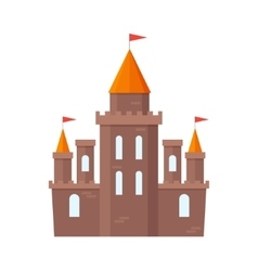 Castle Knight Flat vector image
