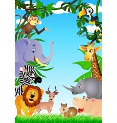 safari africa vector image