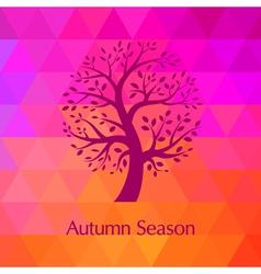 Autumn modern background vector