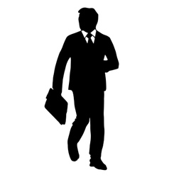 High quality original of a man in a vector image