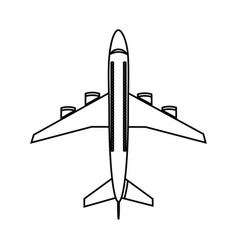 airplane icon image vector image