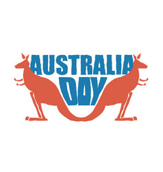 australia day traditional australian patriotic vector image