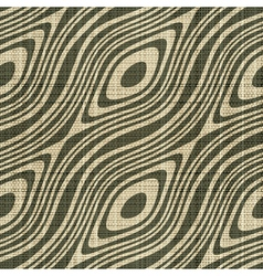 Decorative wooden fiber textile print vector