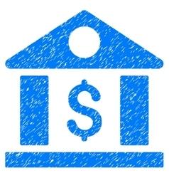 Dollar Bank Grainy Texture Icon vector