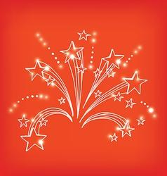 Firework icon sketch design vector