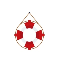 Life Preserver For The Boat vector image
