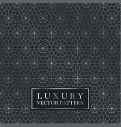 luxury seamless ornate pattern - grid gradient vector image