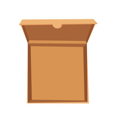 open pizza box delivery vector image