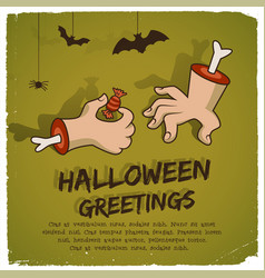 party halloween template vector image