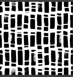 Regular rectangle brush strokes seamless pattern vector