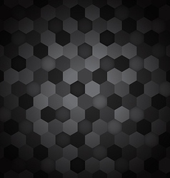 Seamless hexagon pattern abstract background vector