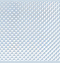 seamless pattern in fish scale design vector image