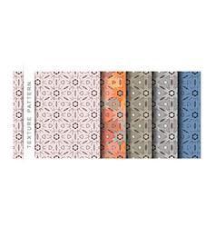 Set texture pattern wallpaper pattern backg vector