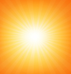 Sunburst Poster With Beams vector image vector image