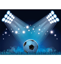 stadium ball vector image