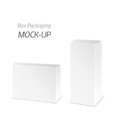 White Package Box vector image