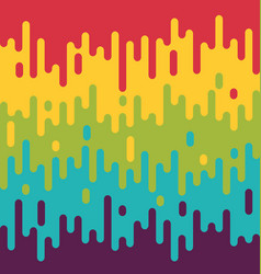 colorful melting background summer modern vector image vector image